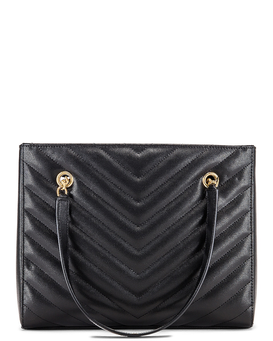 Image 3 of Saint Laurent Small Tribeca Bag in Black