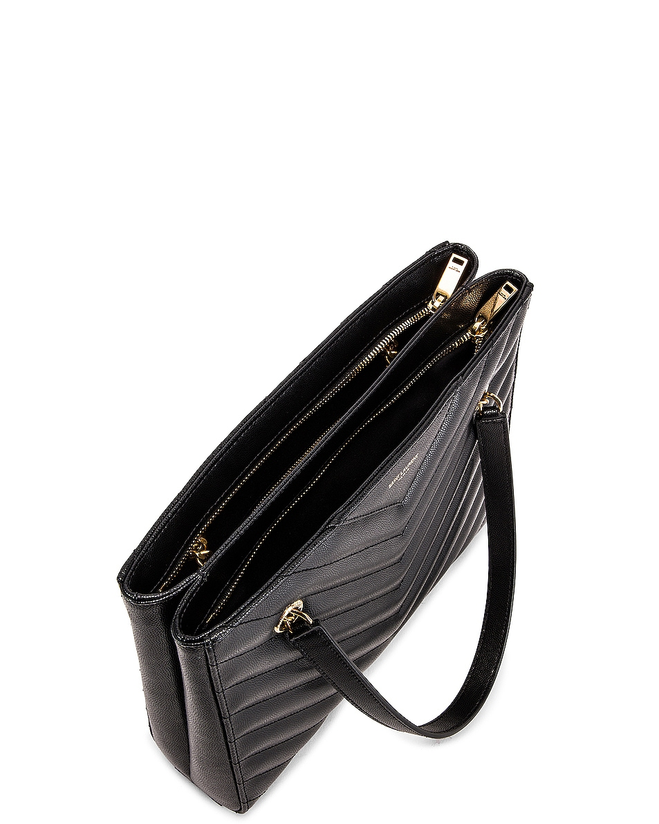 Image 5 of Saint Laurent Small Tribeca Bag in Black