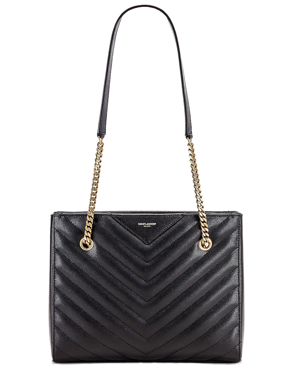 Image 6 of Saint Laurent Small Tribeca Bag in Black