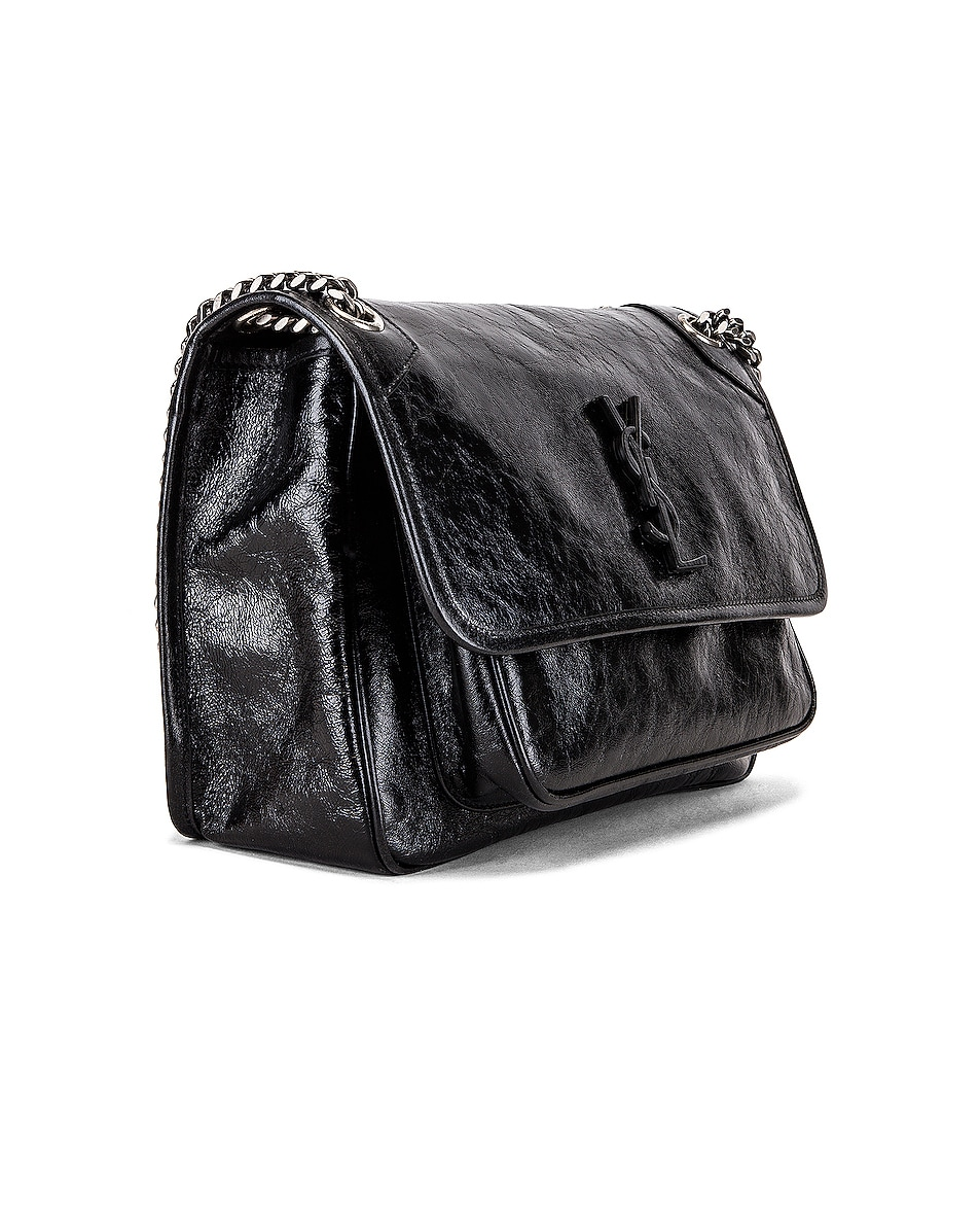 Image 4 of Saint Laurent Medium Niki Chain Bag in Black