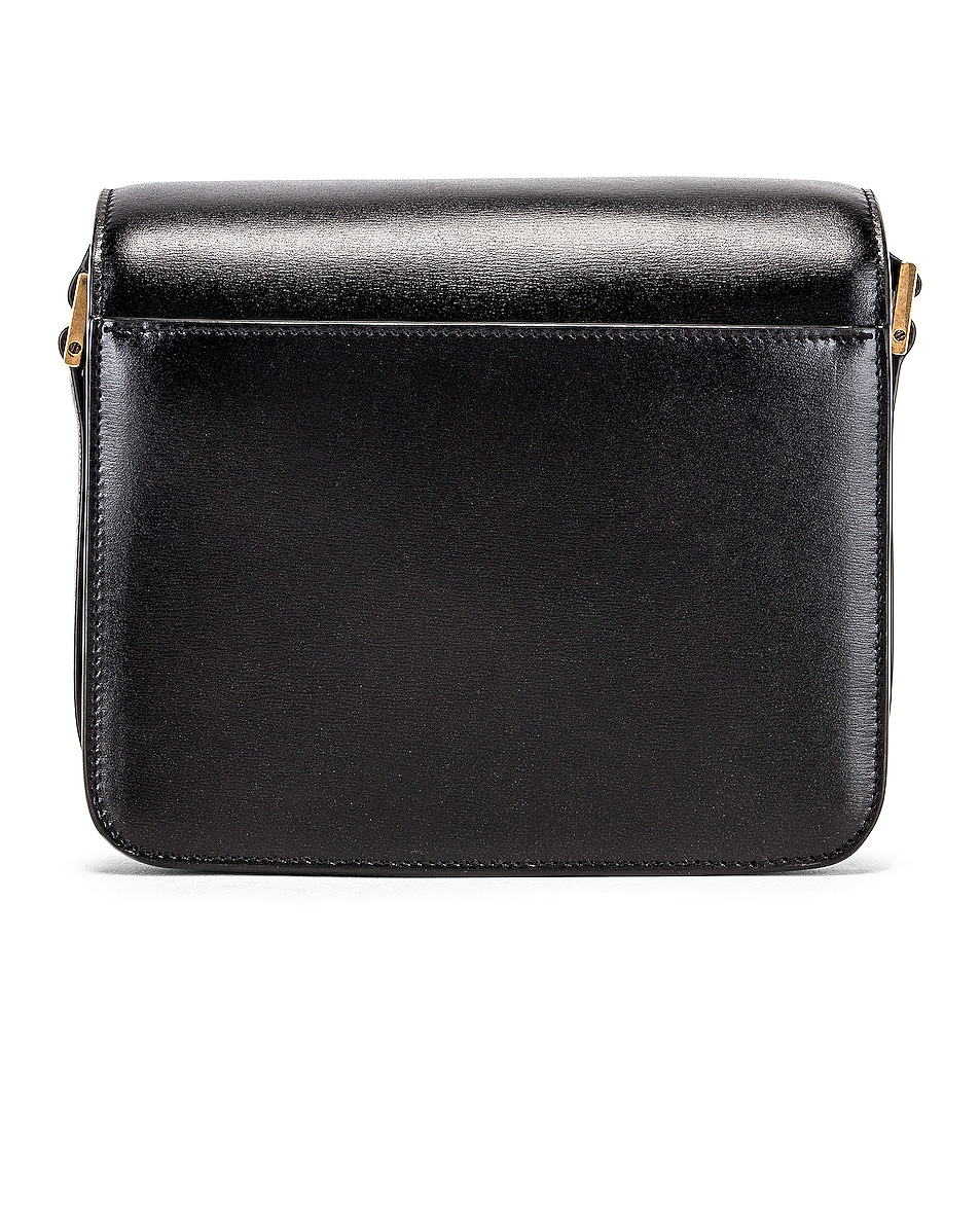 Image 3 of Saint Laurent Small Besace Le 61 Bag in Black