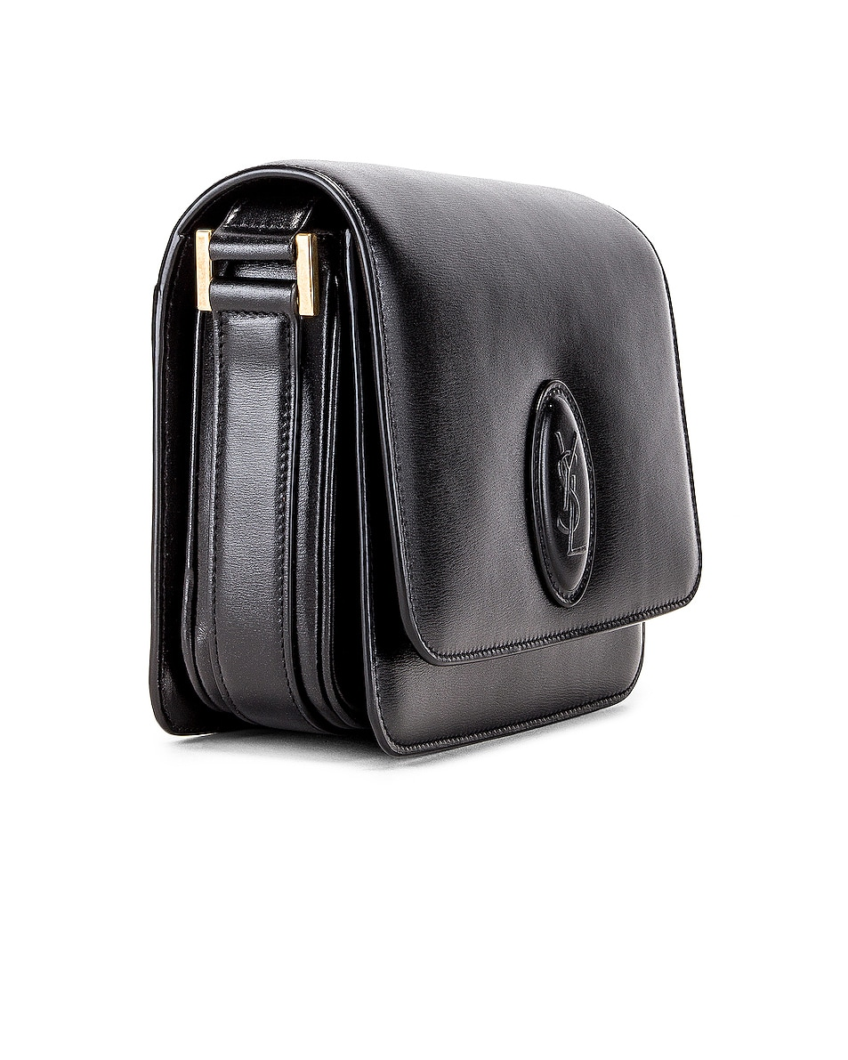 Image 4 of Saint Laurent Small Besace Le 61 Bag in Black