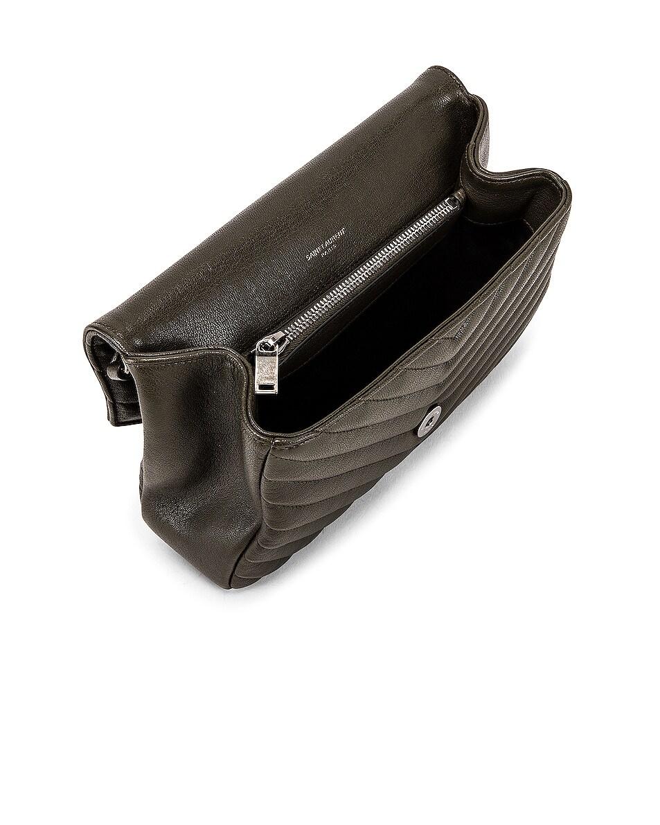 Image 5 of Saint Laurent Medium Monogramme College Bag in Dark Tea