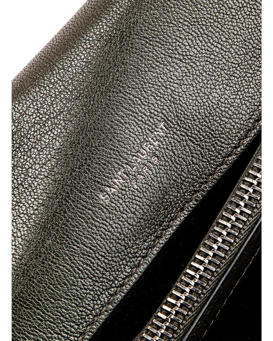 Image 7 of Saint Laurent Medium Monogramme College Bag in Dark Tea