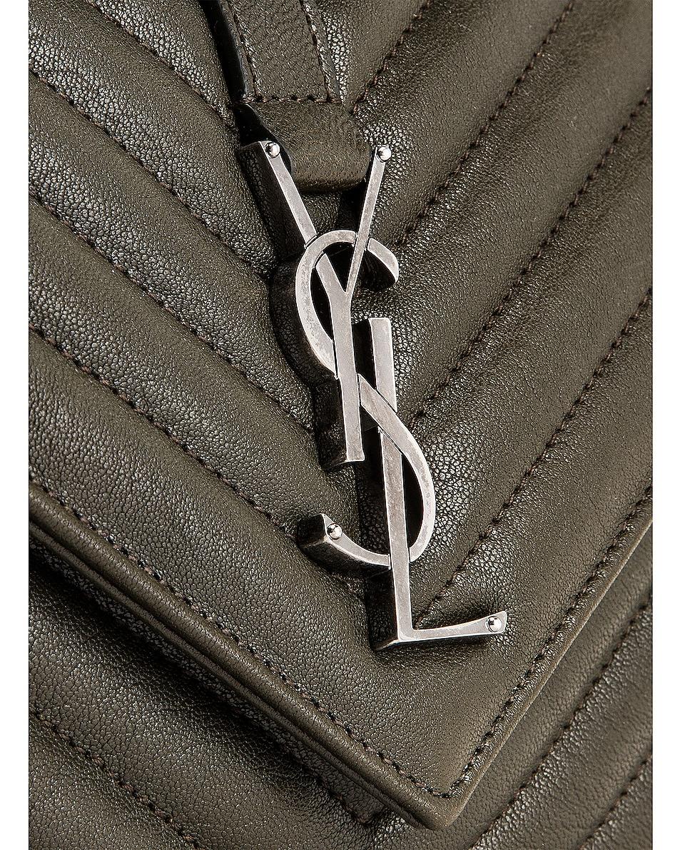 Image 8 of Saint Laurent Medium Monogramme College Bag in Dark Tea
