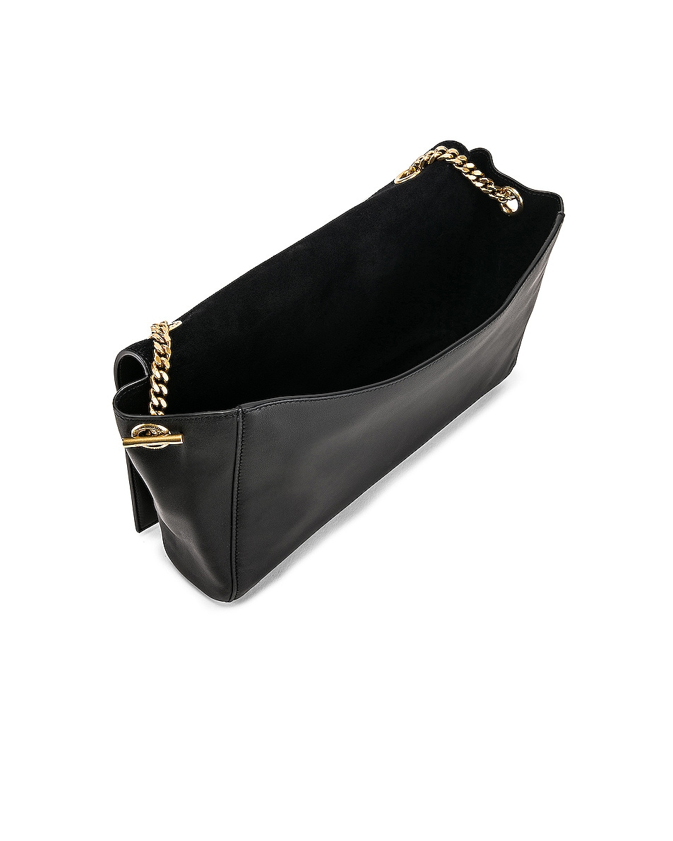 Image 6 of Saint Laurent Reversible Monogramme Kate Bag in Black