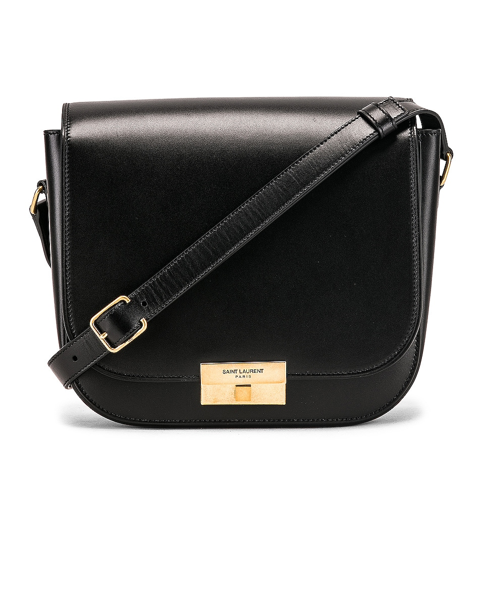 Image 1 of Saint Laurent Betty Satchel Bag in Black