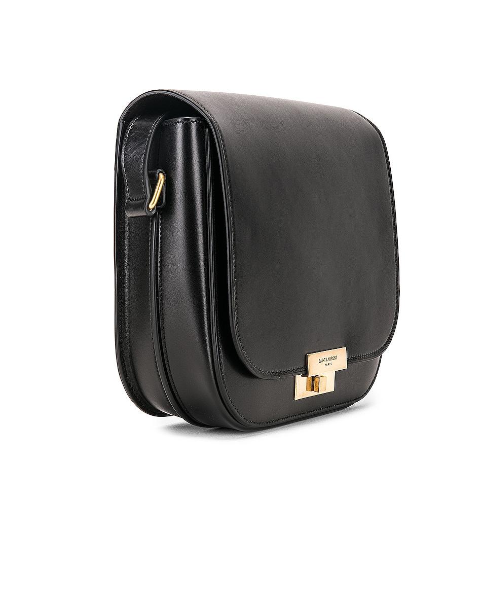 Image 4 of Saint Laurent Betty Satchel Bag in Black