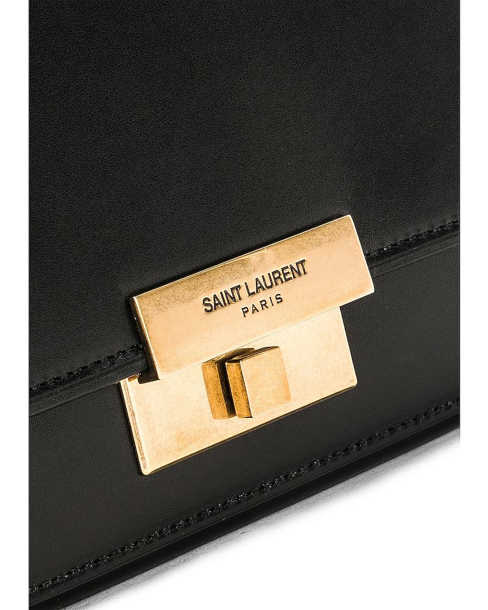 Image 8 of Saint Laurent Betty Satchel Bag in Black