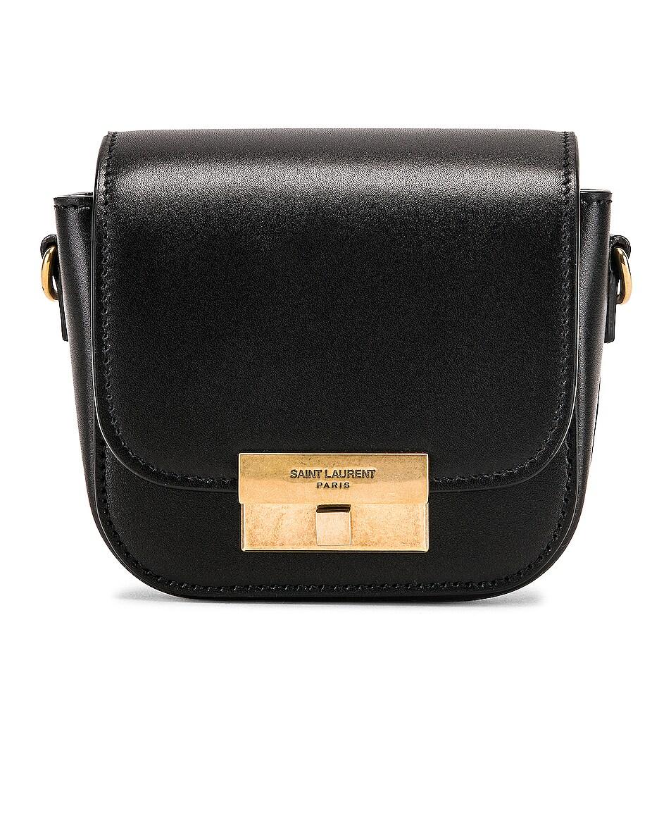 Image 1 of Saint Laurent Mini Betty Satchel Bag in Black