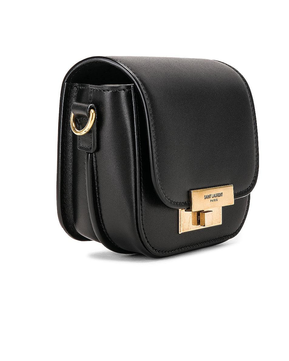 Image 3 of Saint Laurent Mini Betty Satchel Bag in Black