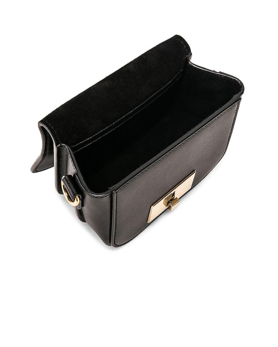 Image 4 of Saint Laurent Mini Betty Satchel Bag in Black