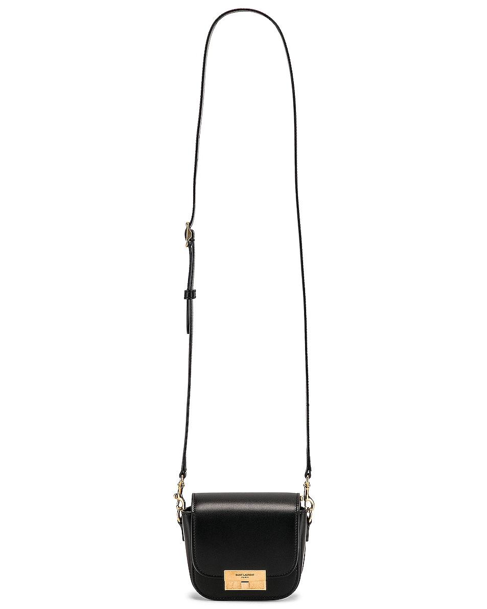 Image 5 of Saint Laurent Mini Betty Satchel Bag in Black