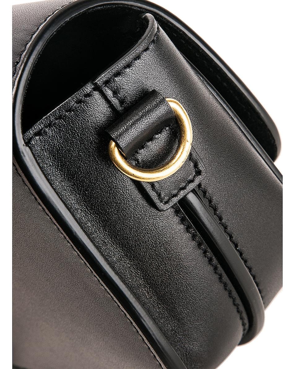 Image 7 of Saint Laurent Mini Betty Satchel Bag in Black