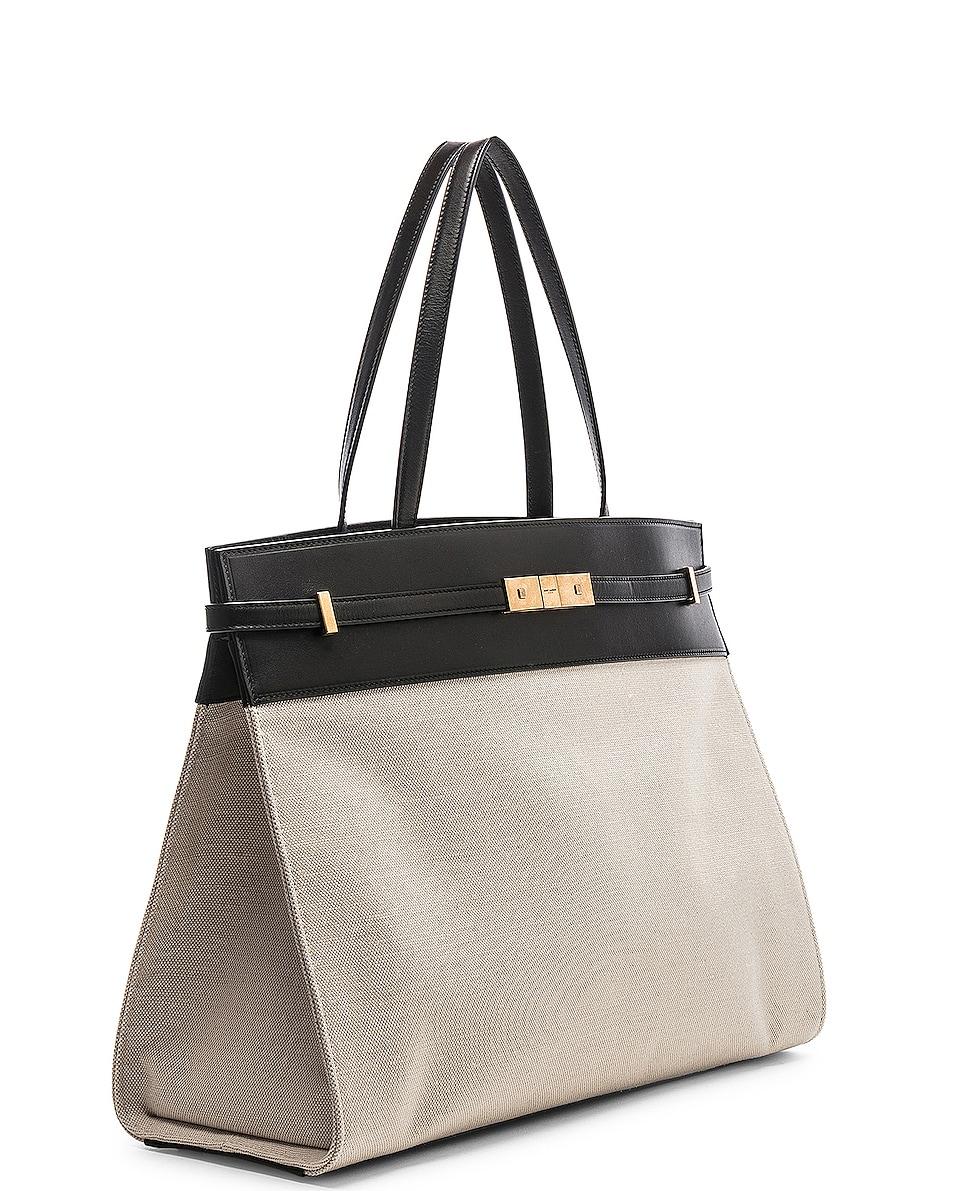 Image 4 of Saint Laurent Medium Manhattan Bag in Black