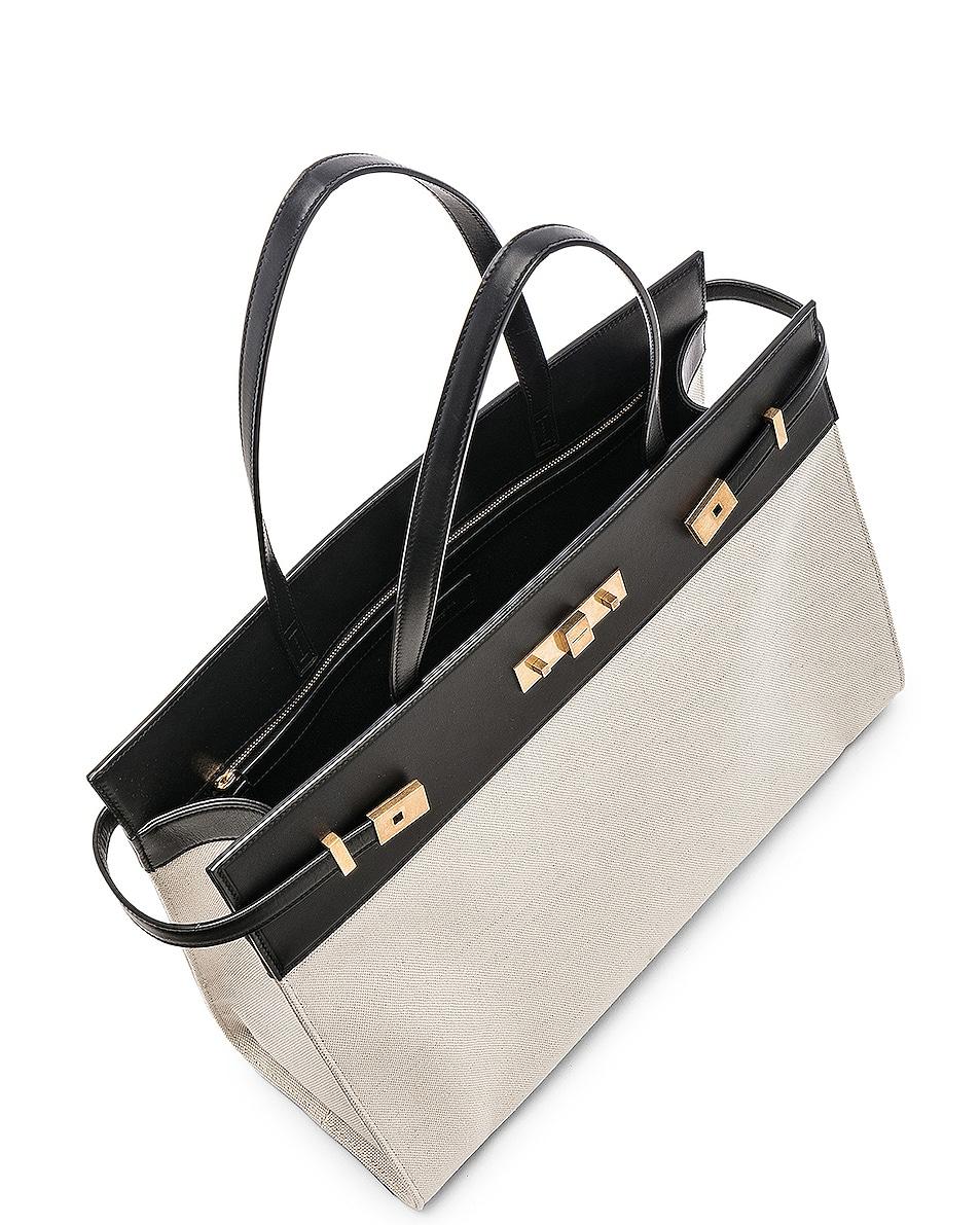 Image 5 of Saint Laurent Medium Manhattan Bag in Black