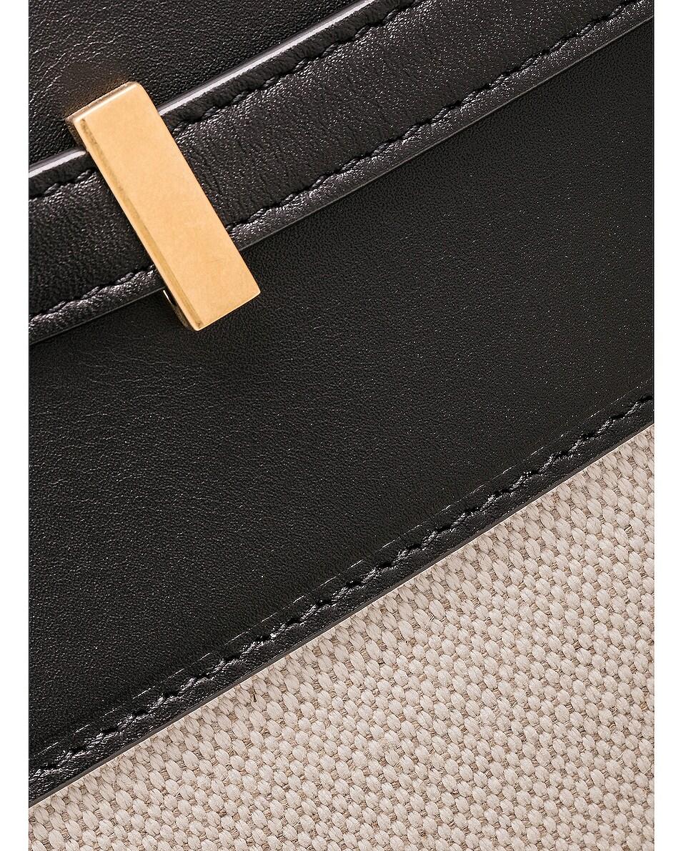 Image 7 of Saint Laurent Medium Manhattan Bag in Black