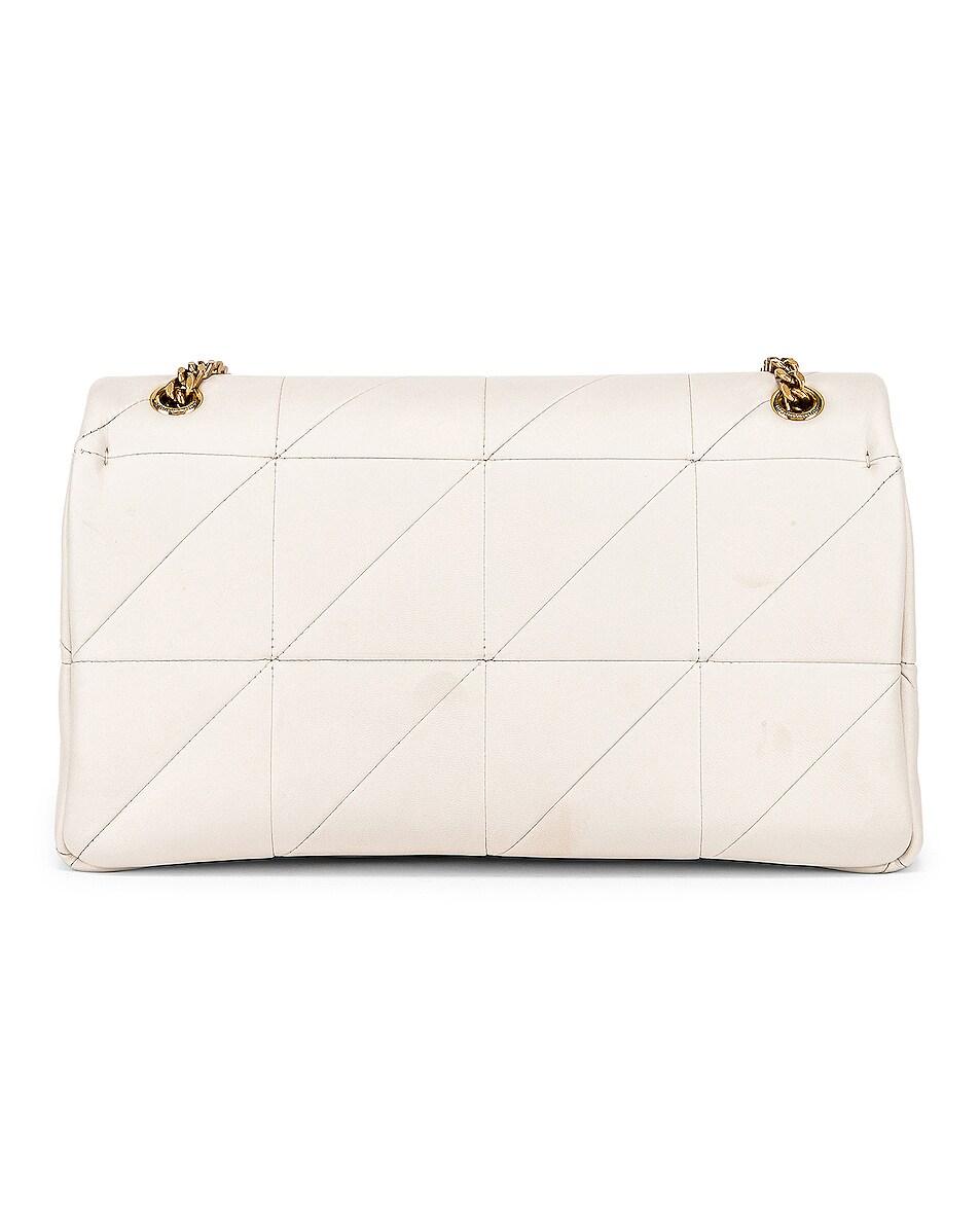 Image 3 of Saint Laurent Medium Monogramme Jamie Chain Bag in Crema Soft