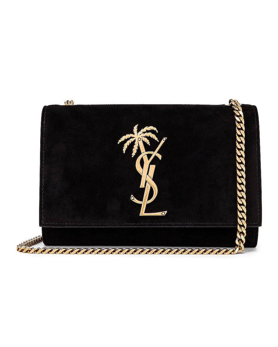 Image 1 of Saint Laurent Small Monogramme Kate Bag in Black