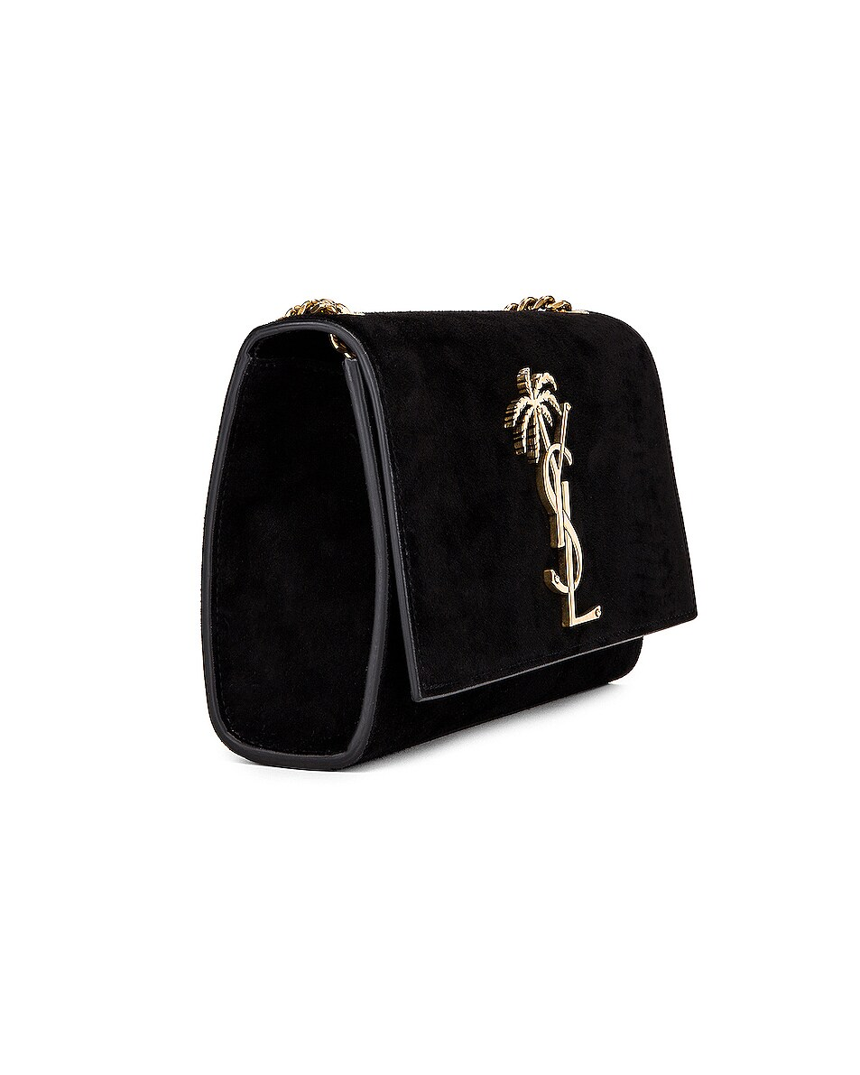 Image 4 of Saint Laurent Small Monogramme Kate Bag in Black