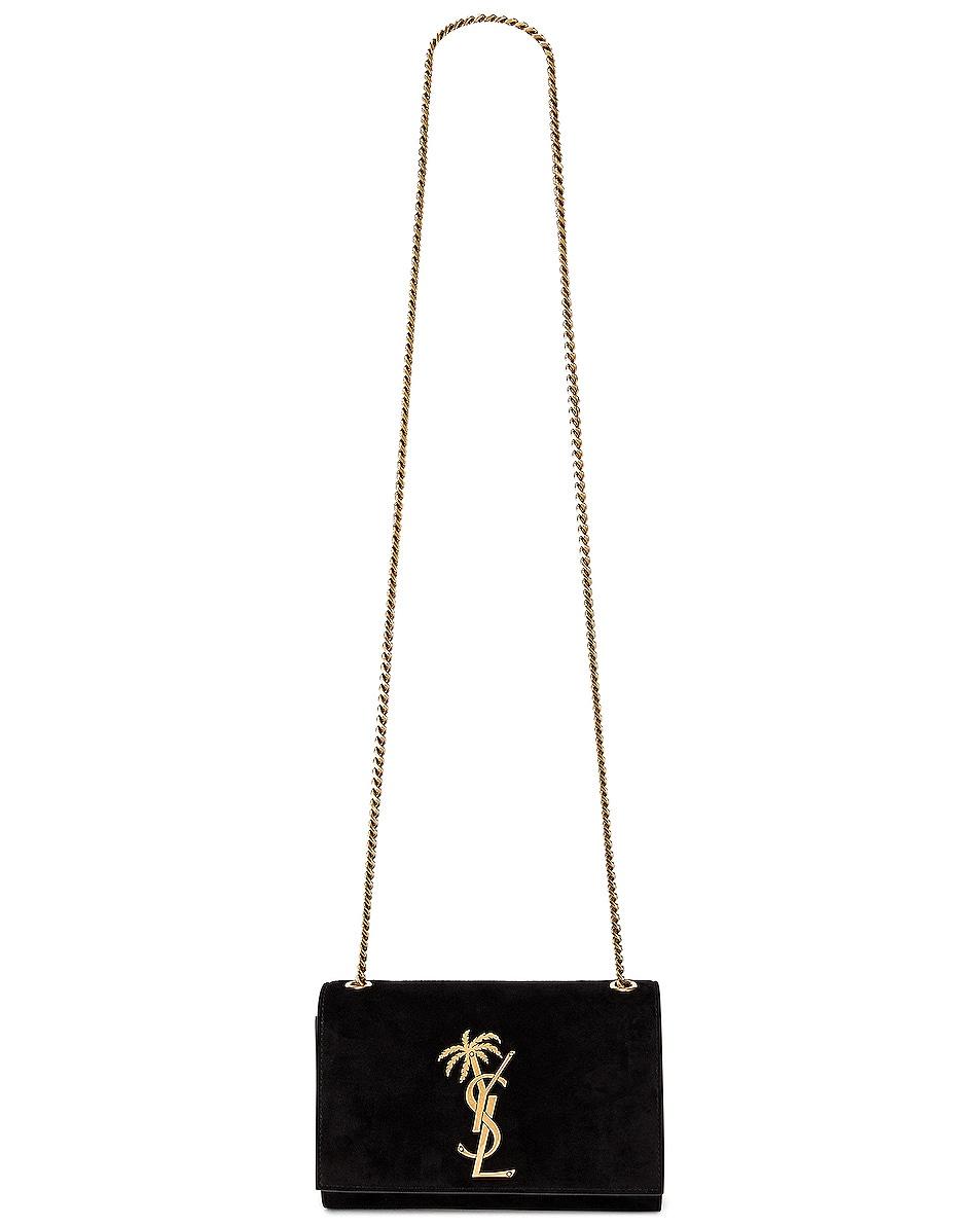 Image 6 of Saint Laurent Small Monogramme Kate Bag in Black