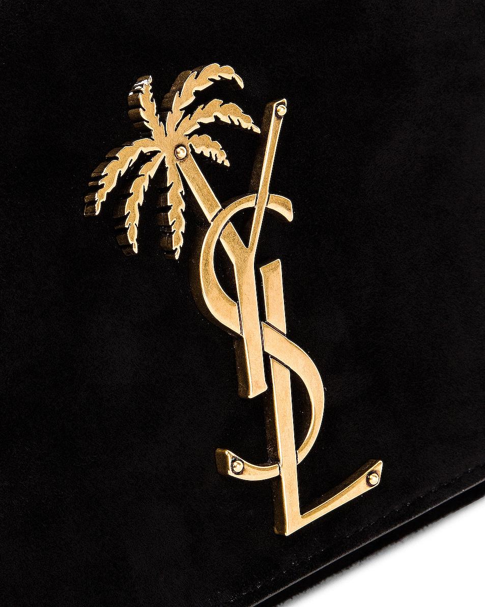 Image 7 of Saint Laurent Small Monogramme Kate Bag in Black