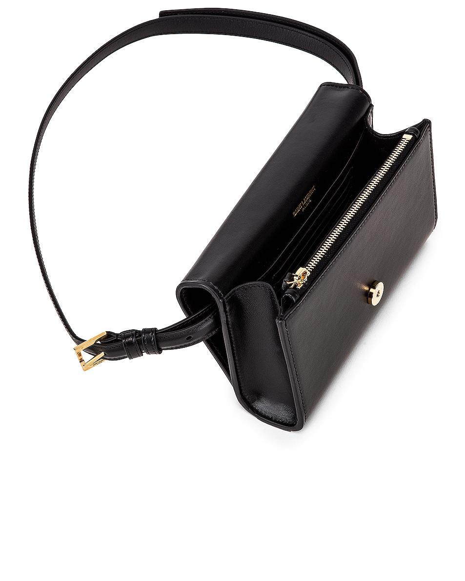 Image 5 of Saint Laurent Kate Belt Bag in Black