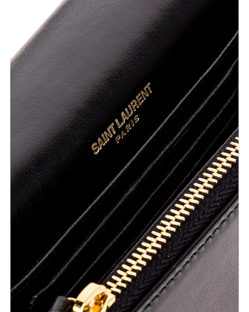 Image 7 of Saint Laurent Kate Belt Bag in Black