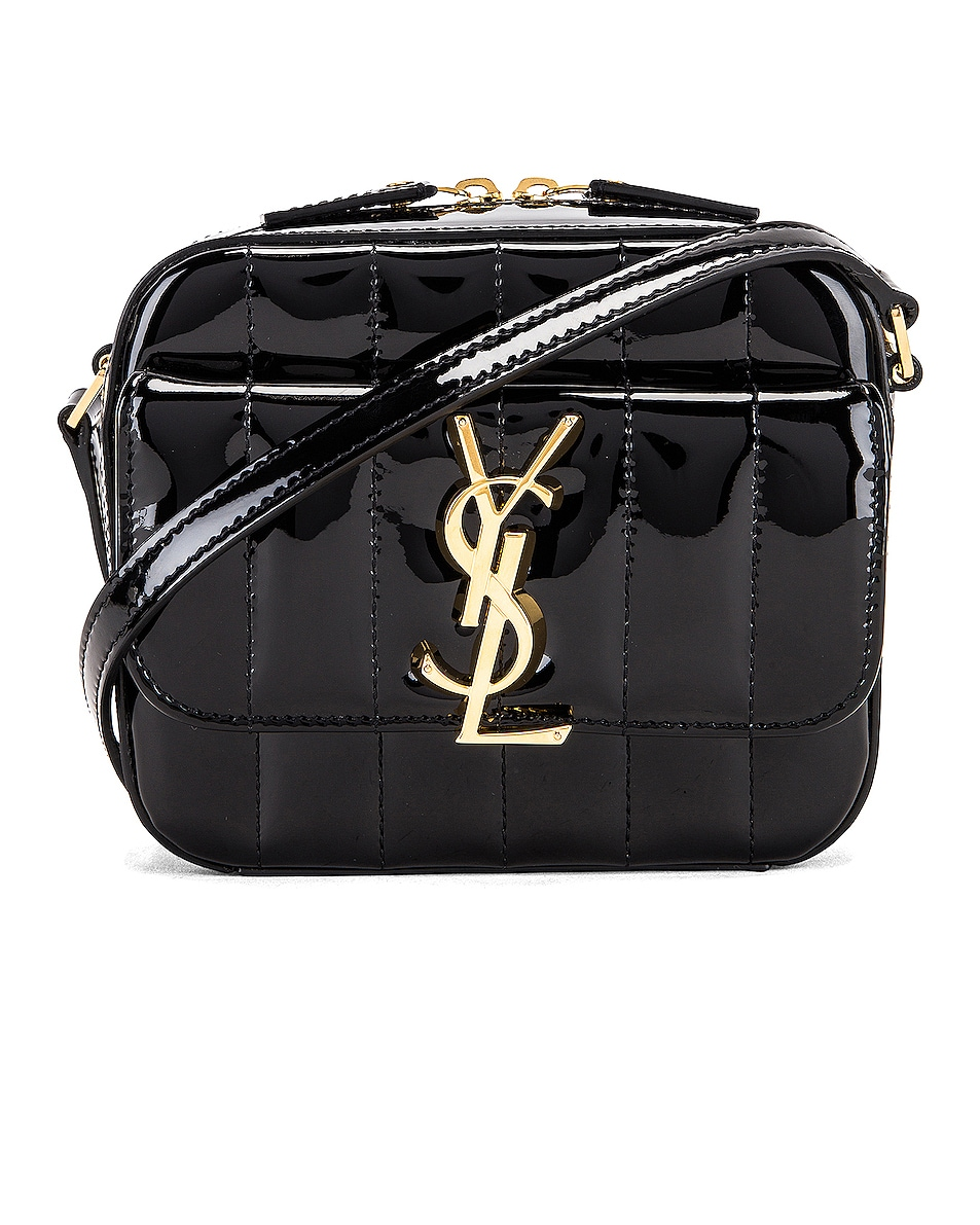 Image 1 of Saint Laurent Vicky Bag in Black