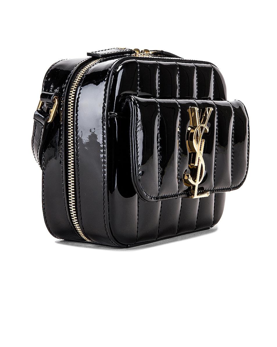 Image 4 of Saint Laurent Vicky Bag in Black