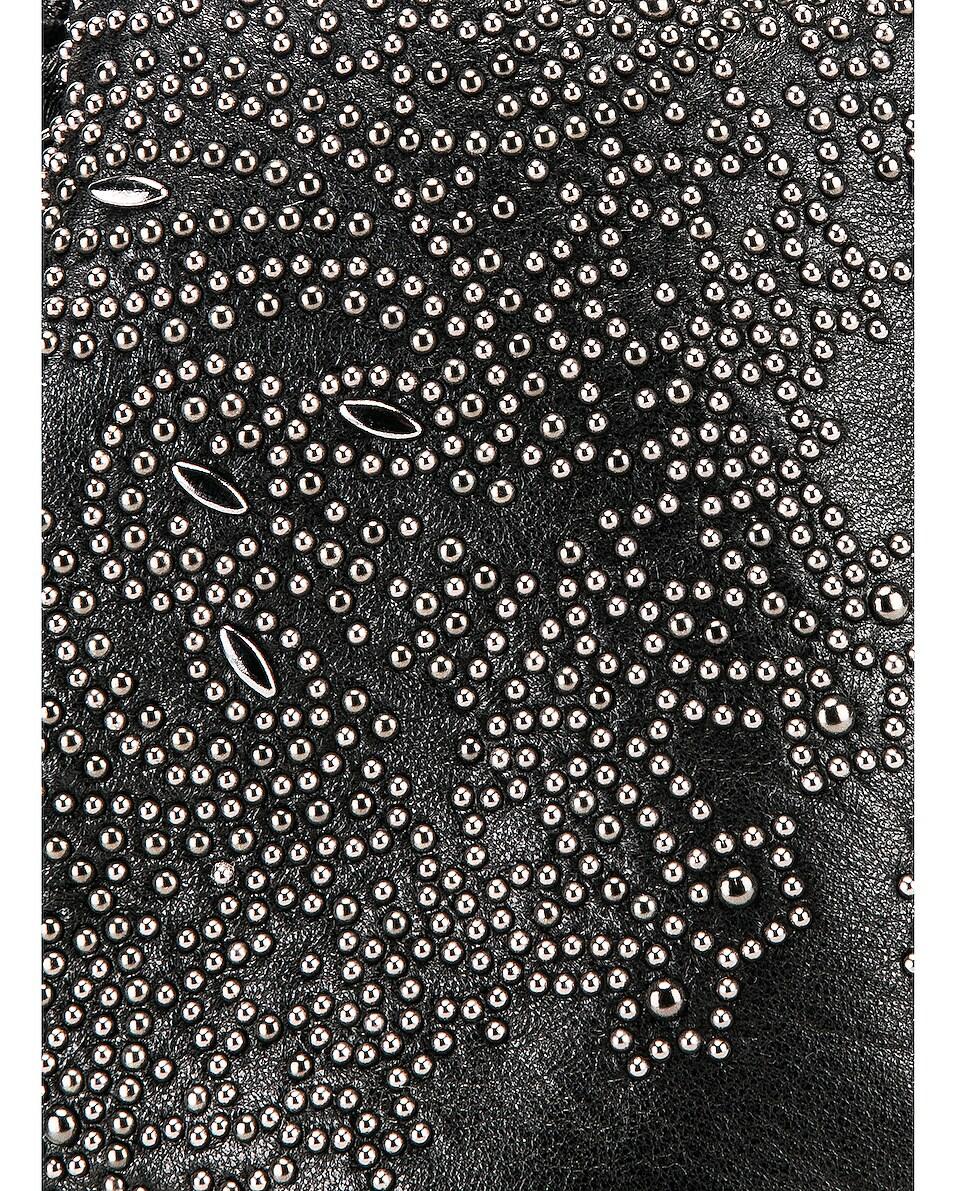 Image 8 of Saint Laurent Bandana Pouch Bag in Black