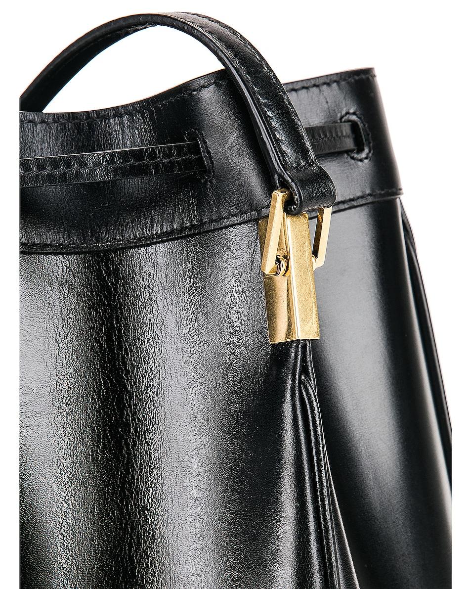 Image 8 of Saint Laurent Medium Talitha Pouch Bag in Black