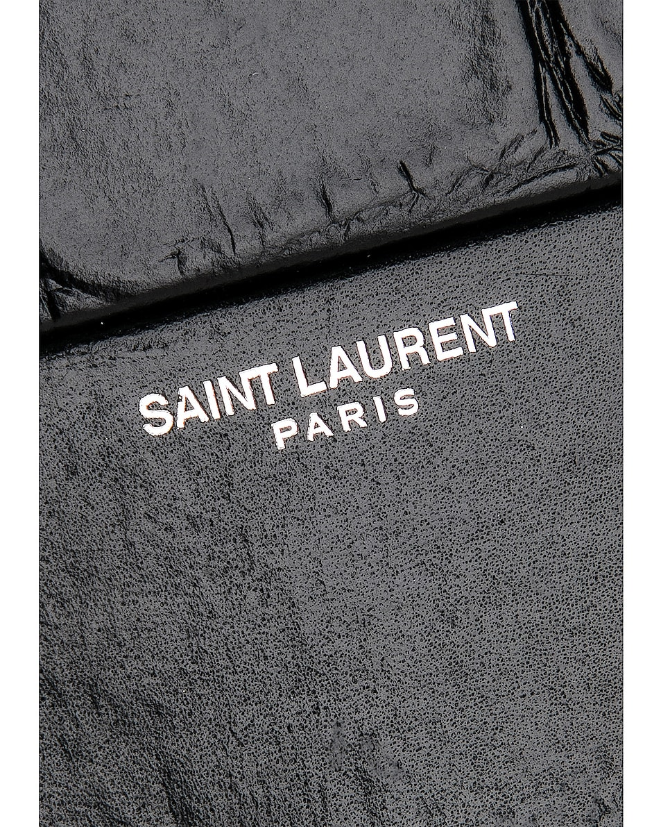 Image 7 of Saint Laurent Smoking Box Minaudiere in Black