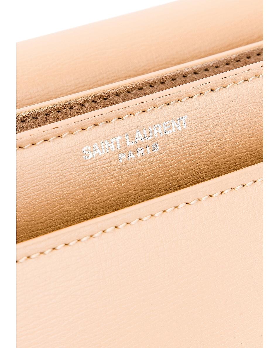 Image 7 of Saint Laurent Medium Monogramme Sunset Chain Bag in Corset