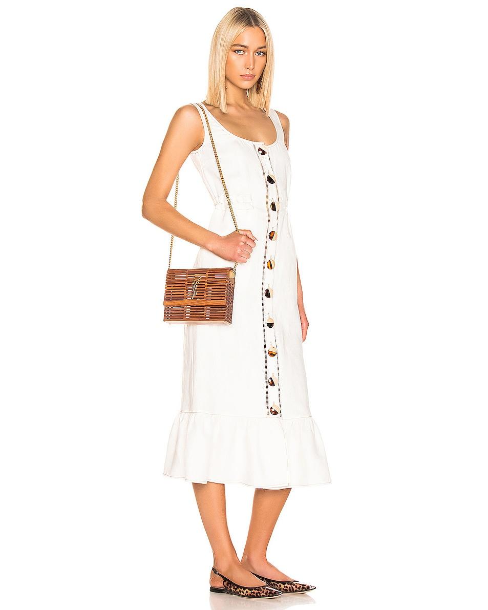 Image 2 of Saint Laurent Monogramme Kate Crossbody Bag in Palissandro Opaco