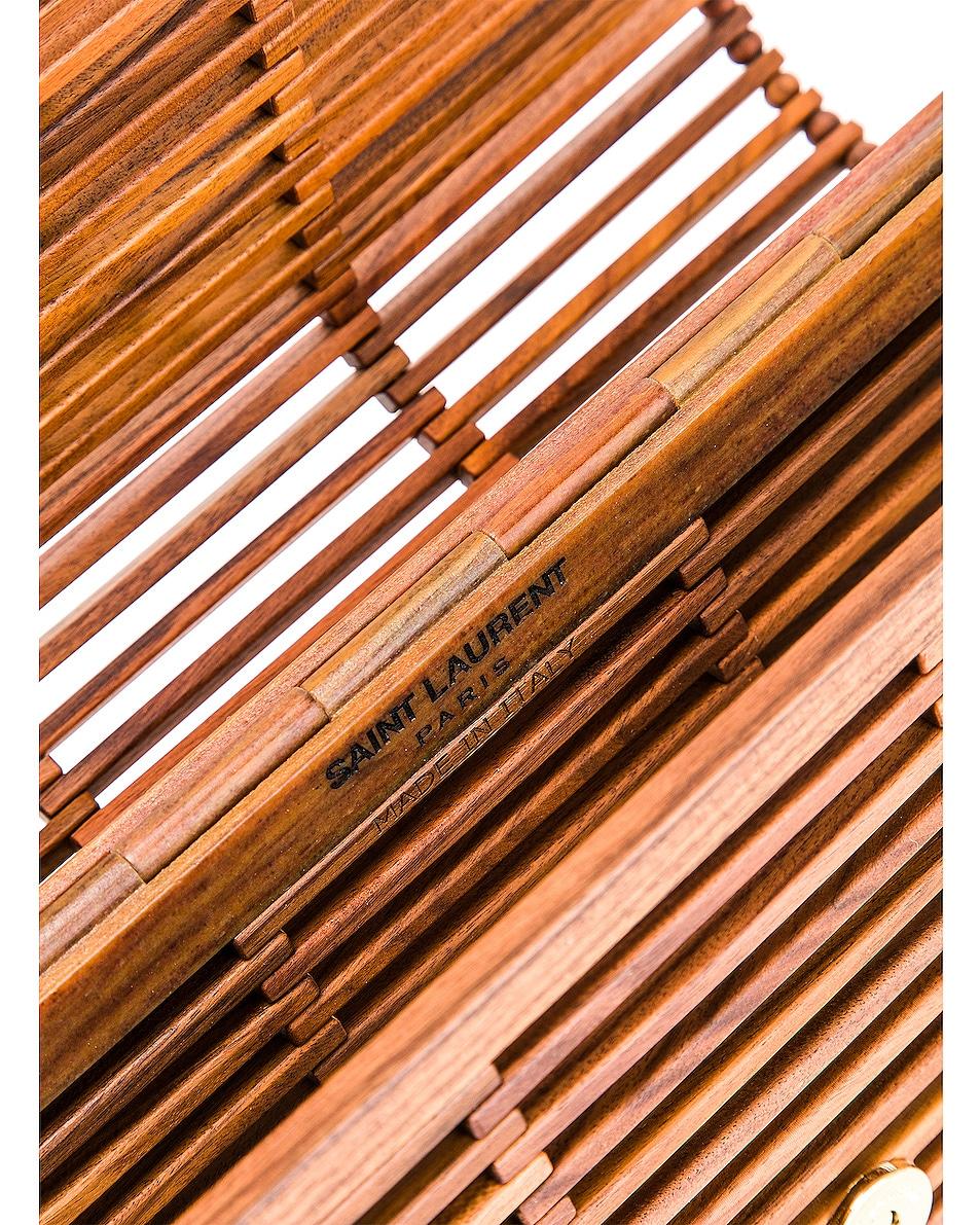 Image 7 of Saint Laurent Monogramme Kate Crossbody Bag in Palissandro Opaco