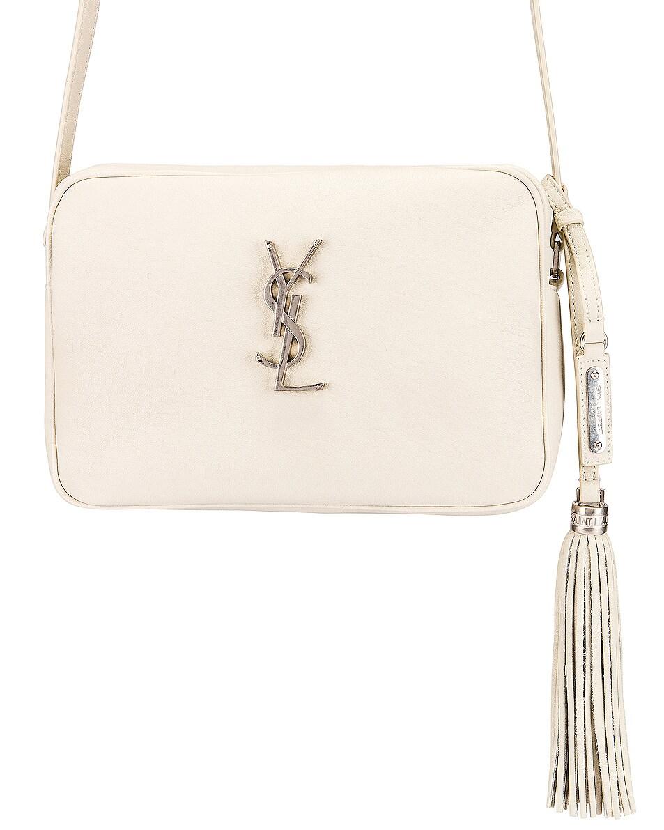 Image 1 of Saint Laurent Monogramme Lou Bag in Crema Soft