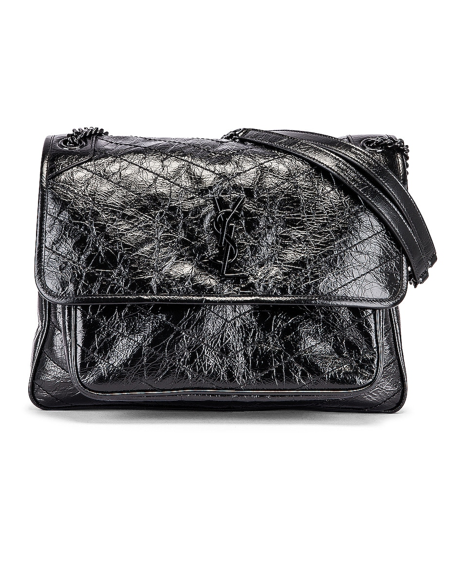 Image 1 of Saint Laurent Large Niki Monogramme Bag in Black