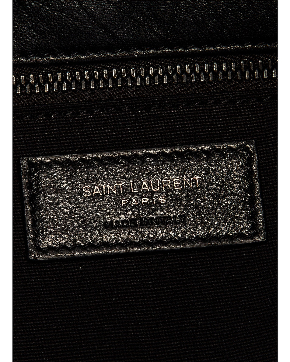 Image 7 of Saint Laurent Monogramme LouLou Bag in Black
