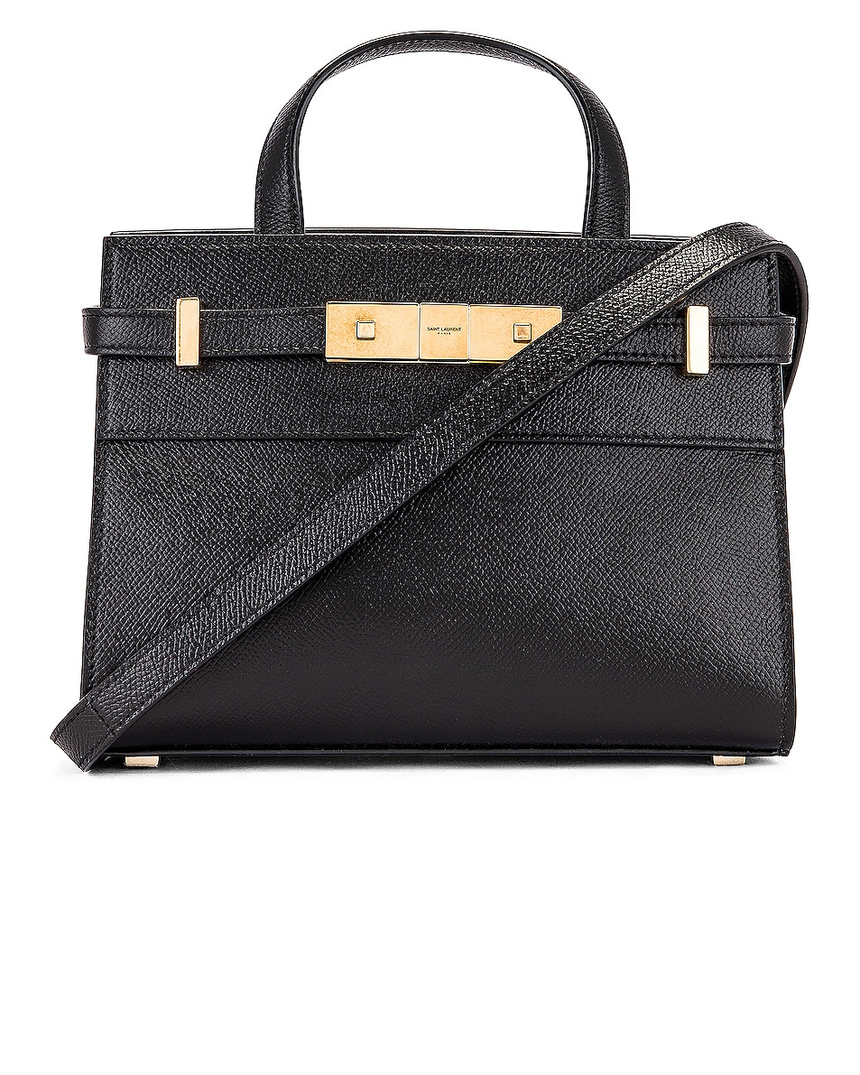 Image 1 of Saint Laurent Manhattan Bag in Black