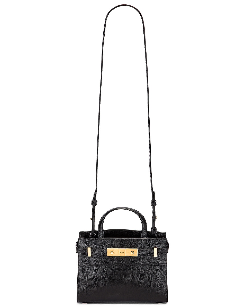 Image 6 of Saint Laurent Manhattan Bag in Black