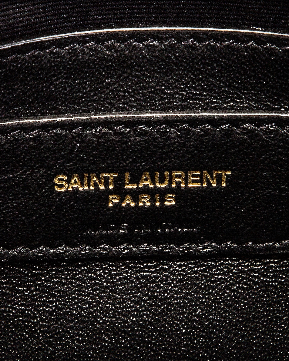 Image 7 of Saint Laurent Manhattan Bag in Black
