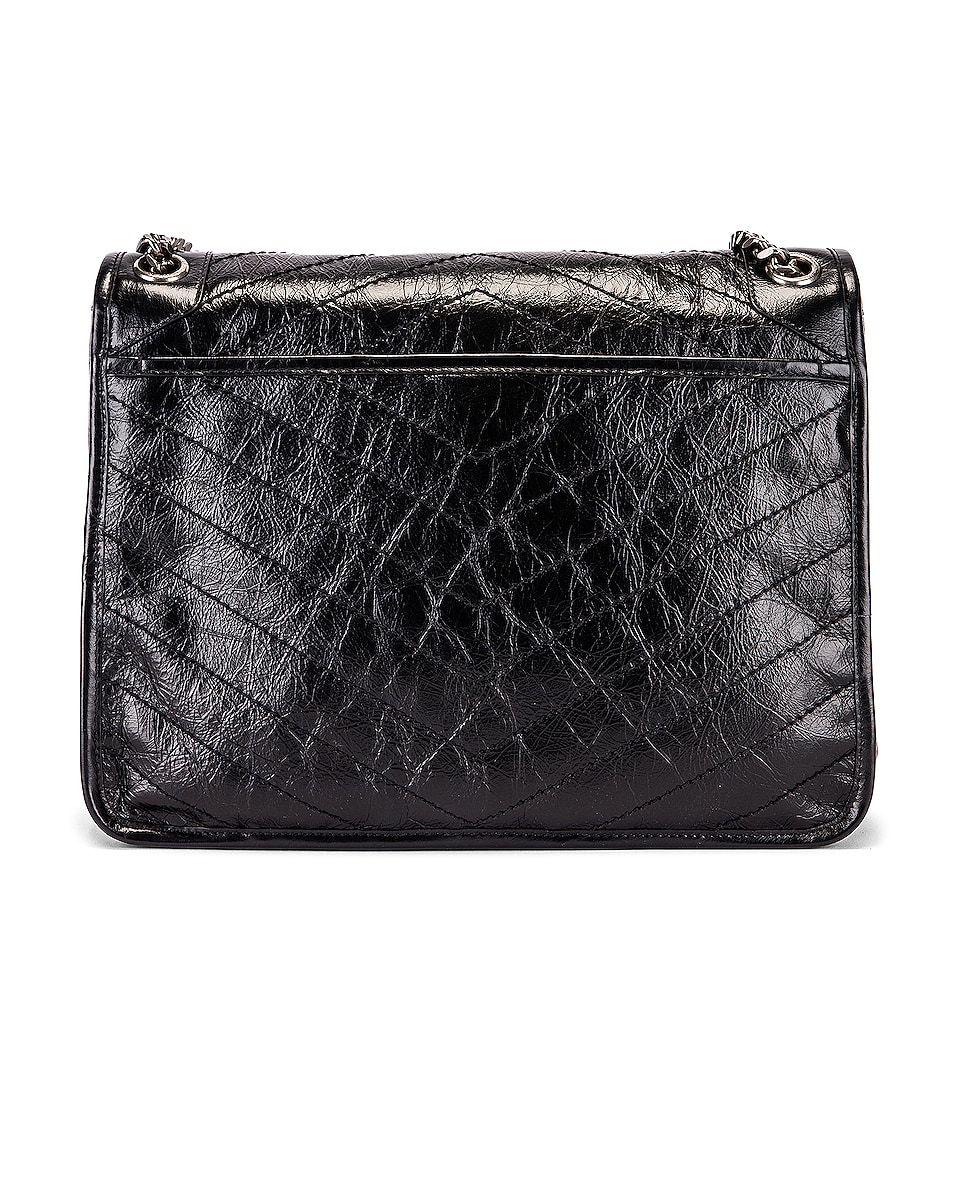 Image 2 of Saint Laurent Niki Monogramme Bag in Black