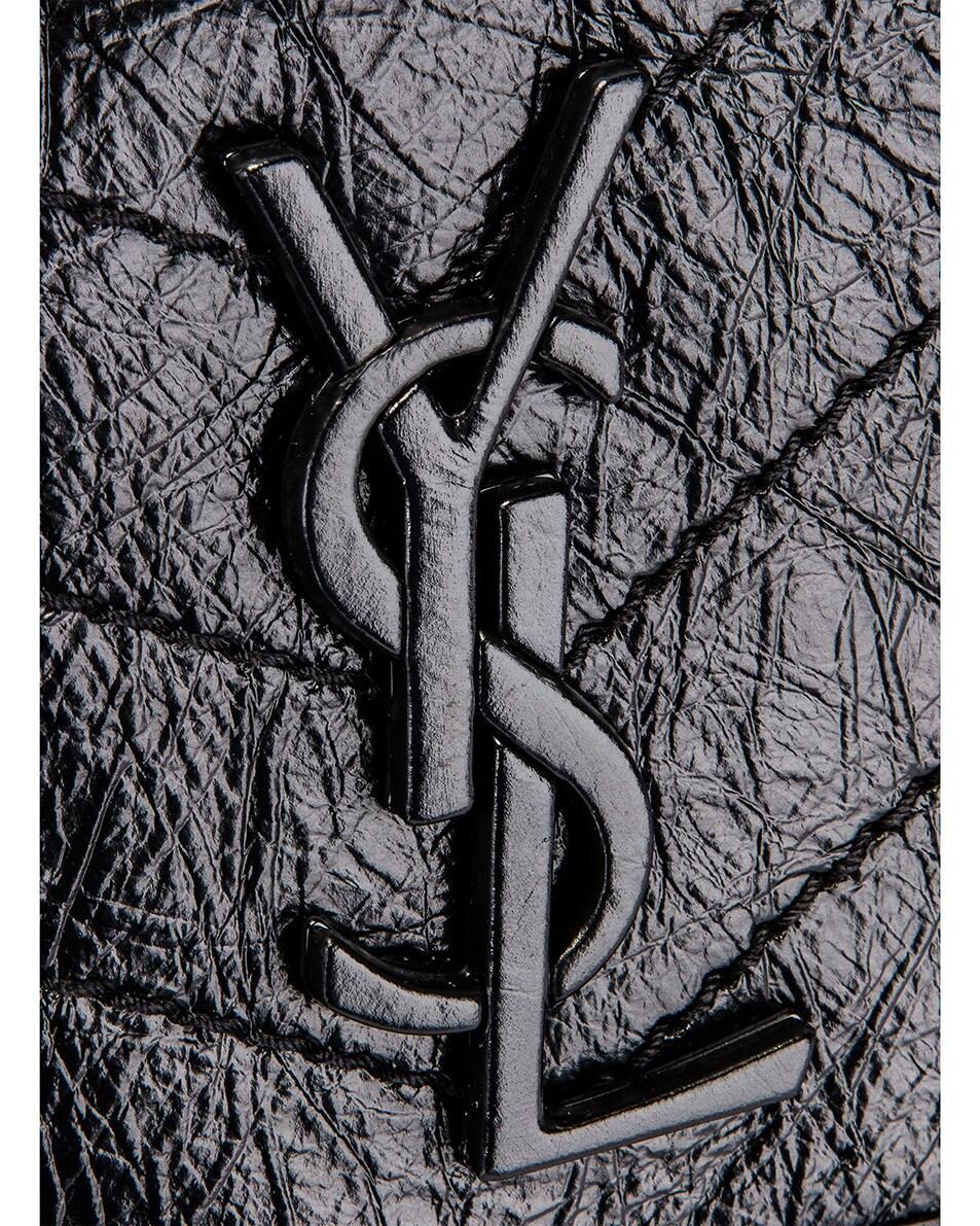 Image 8 of Saint Laurent Niki Monogramme Bag in Black