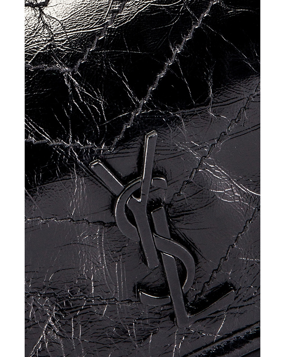 Image 3 of Saint Laurent Niki Monogramme Body Bag in Black
