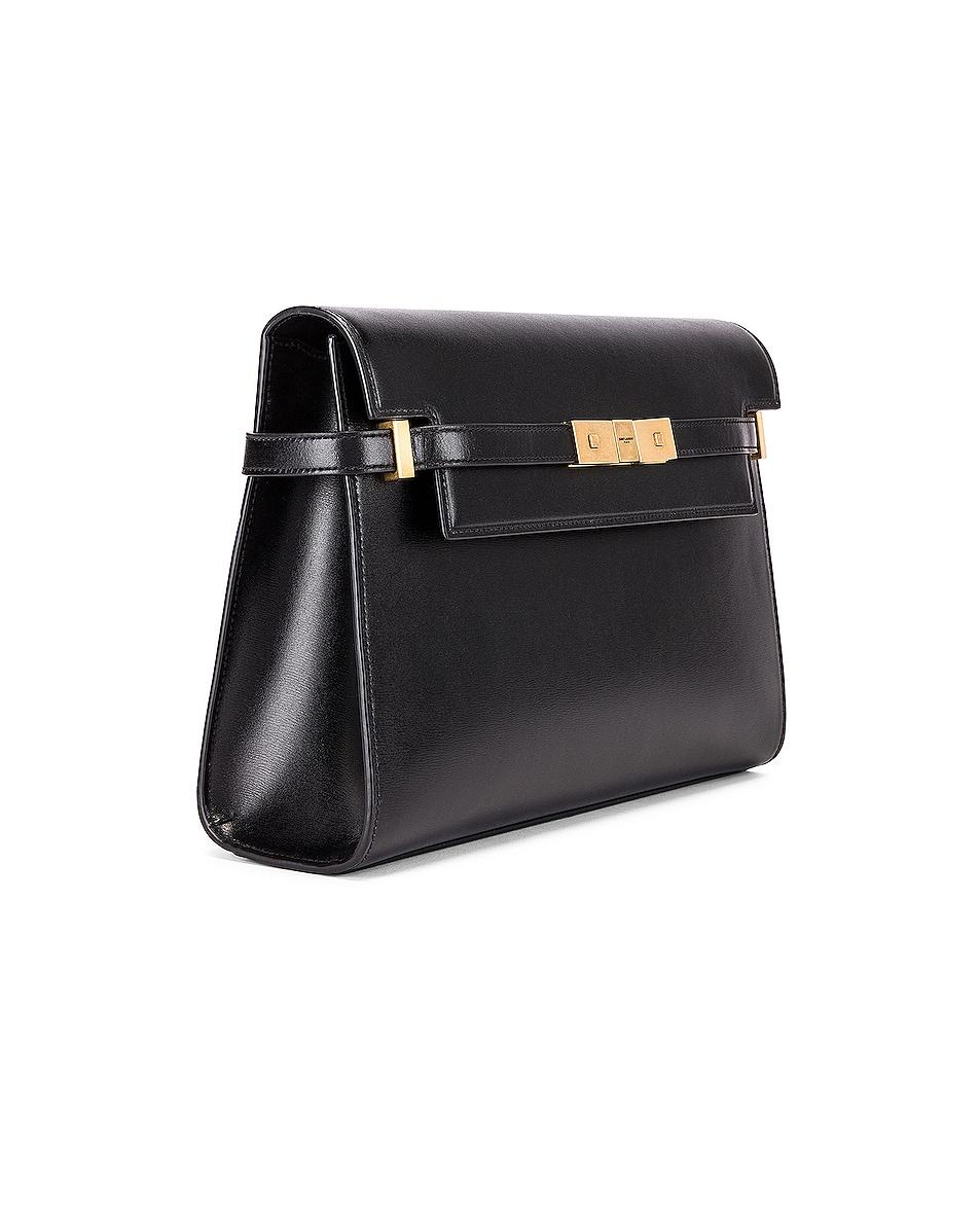 Image 4 of Saint Laurent Manhattan Shoulder Bag in Black