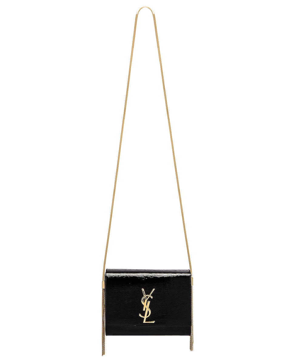 Image 2 of Saint Laurent Kate Boxy Bag in Black