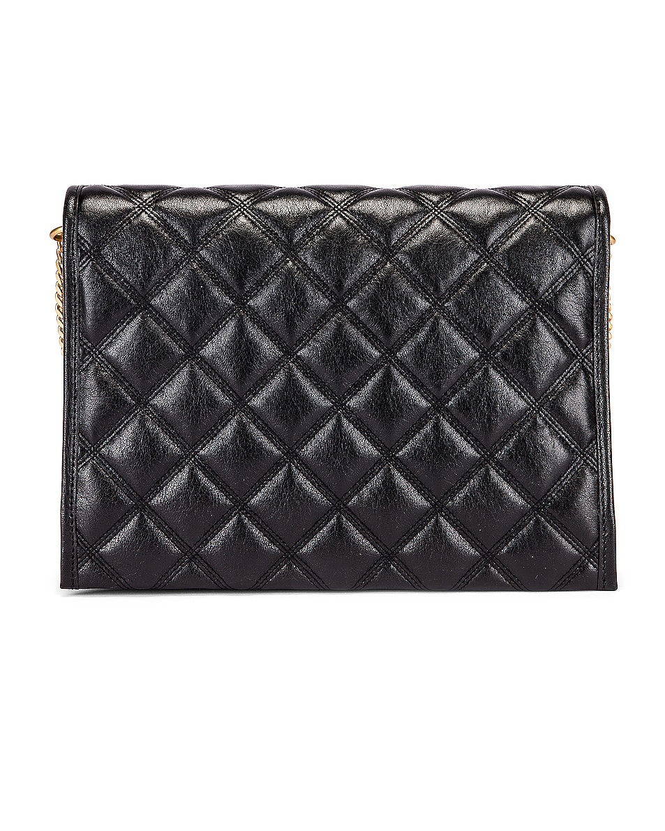 Image 2 of Saint Laurent Small Becky Bag in Black