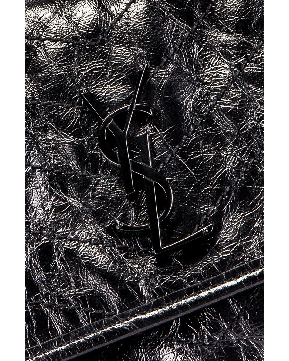 Image 2 of Saint Laurent Medium Niki Chain Bag in Black