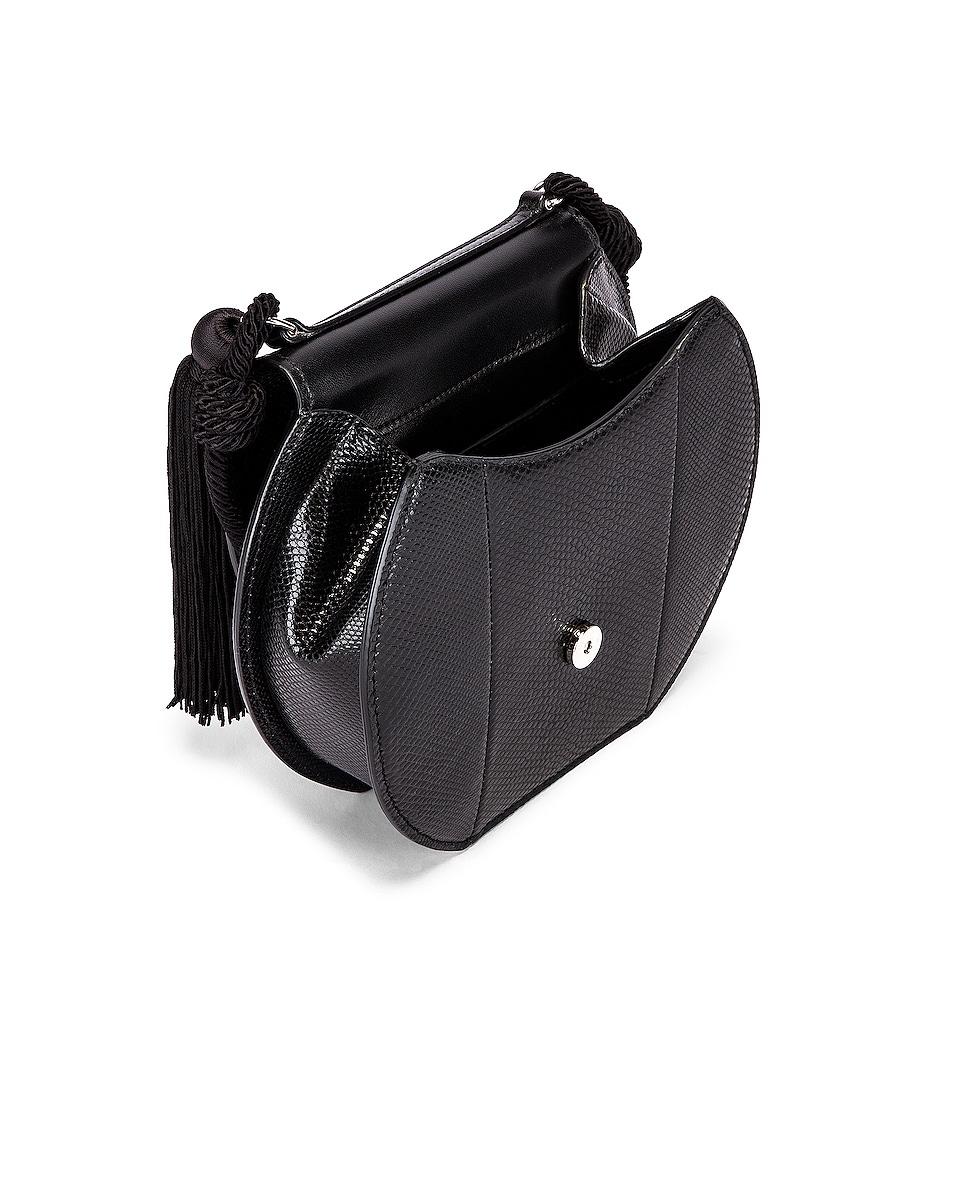 Image 5 of Saint Laurent Demi Lune Minaudiere Bag in Black